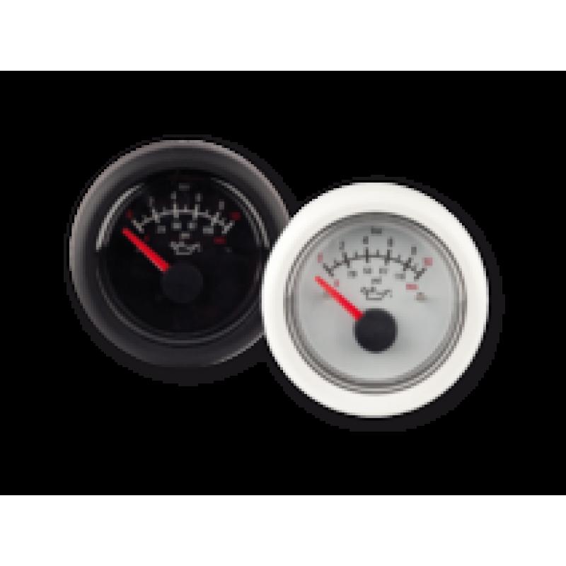 Указатель давления масла 12В 0-8бар черный