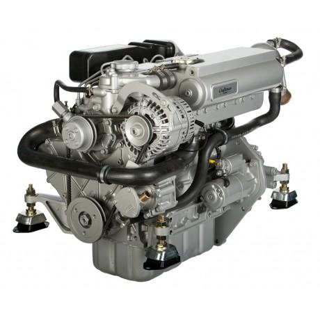Судовой дизельный двигатель Craftsman Marine CM4.42 42 л.с. c реверс-редуктором ZF12M и панелью приборов ALFA20E