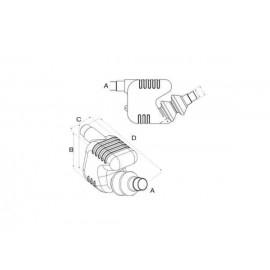 Глушитель  40-45-50mm