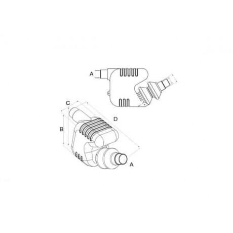Глушитель  75-90mm