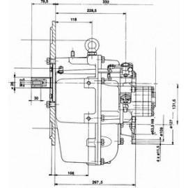 Реверс-редуктор TM 170 R=1.50