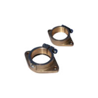 Монтажные фланцы с диаметром вала 30 мм, диаметр дейдвудной трубы 45 мм