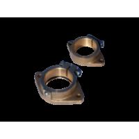 Монтажные фланцы с диаметром вала 25 мм, диаметр дейдвудной трубы 40 мм